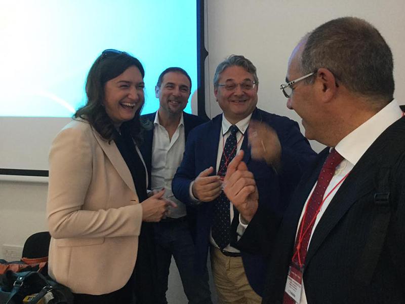 Barbara Mangiacavalli, presidente uscente della Federazione IPASVI, oggi FNOPI.