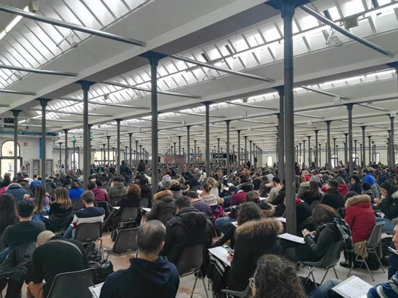 I partecipanti alla preselezione del Friuli Venezia Giulia. Un Concorso Infermieri organizzato in modo impeccabile.