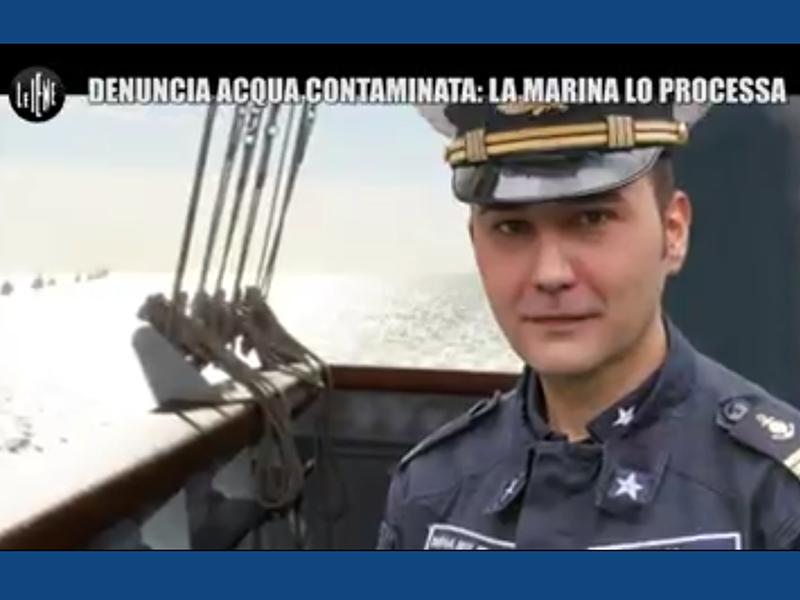 Infermiere Militare alle Iene: acque velenose sulle navi della Marina