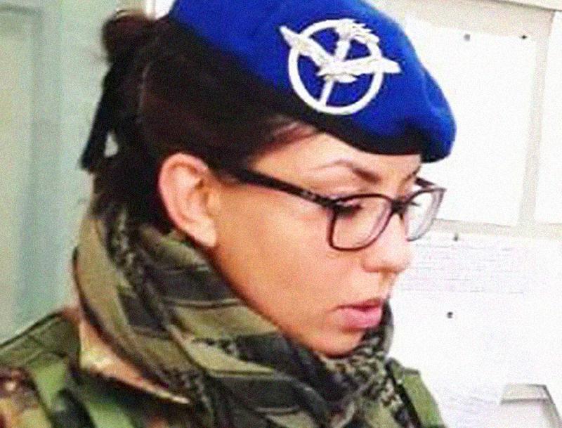 Rosa De Santis, dopo un breve percorso nell'Esercito Italiano ora è diventata Infermiera!