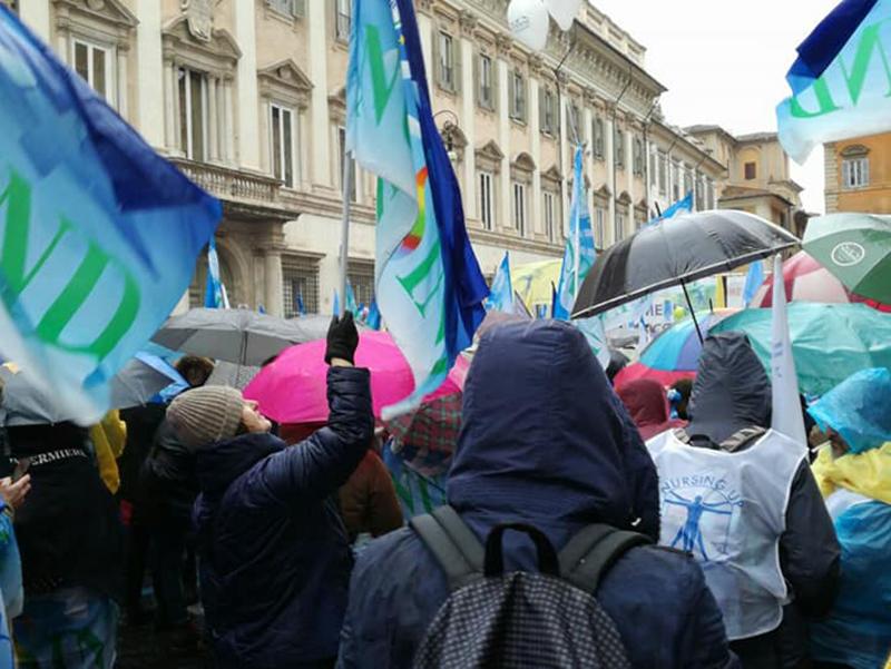 Sciopero Nazionale Infermieri: in piazza il 12 e 13 aprile, no agli 85 euro!
