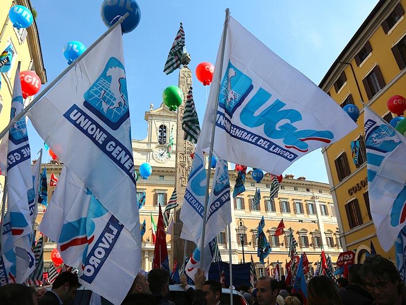 L'UGL scende in piazza con gli Infermieri Italiani per lo sciopero del 23 febbraio 2018 a Roma.