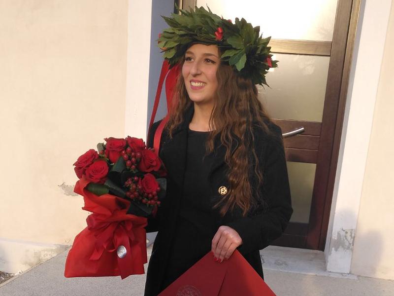 Virginia De Nes, si è laureata in Infermieristica con una tesi sul Telenursing.