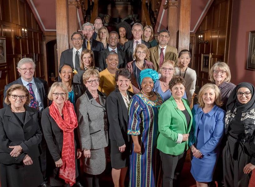 I membri fondatori del progetto: professori, personalità scientifiche e del mondo politico da ogni continente!