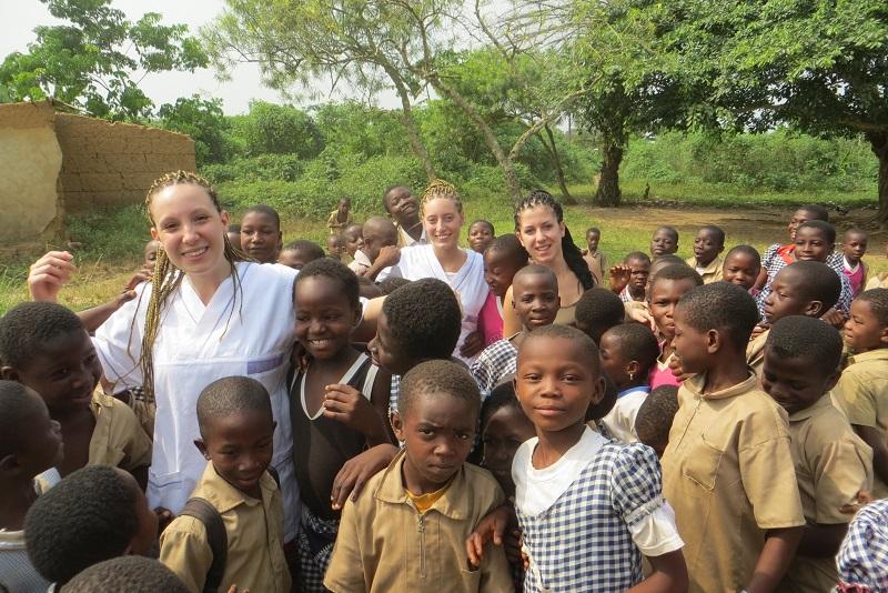 Costa d'Avorio: la storia di tre giovani colleghe!