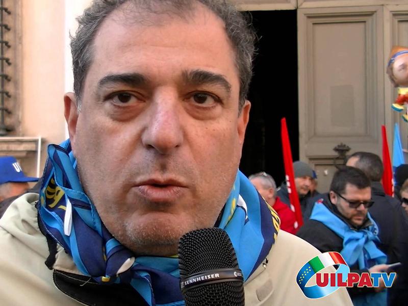 Michelangelo Librandi (UIL-FPL) si candida alle elezioni RSU 2018 a Genova.