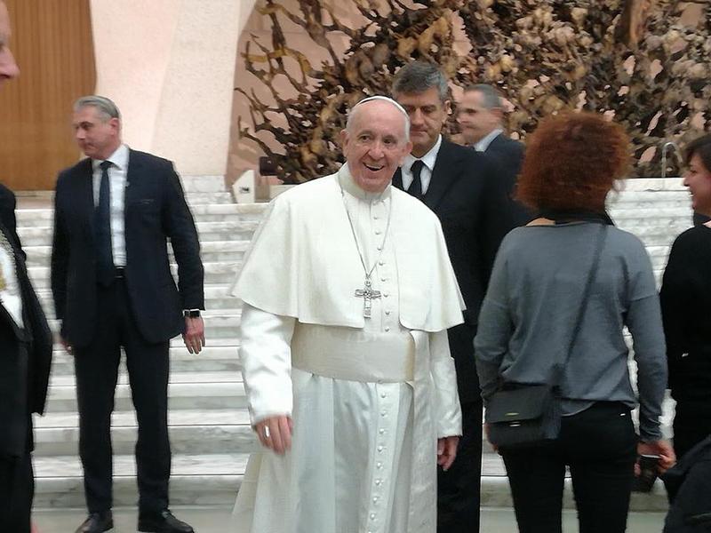 Papa Francesco ha accolto oggi in Vaticano gli Infermieri Italiani definendoli esseri eccezionali.