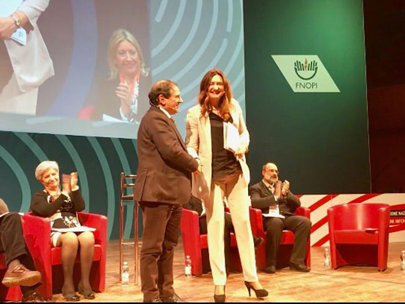 Patto tra Infermieri e Medici sul palco del Congresso Nazionale FNOPI