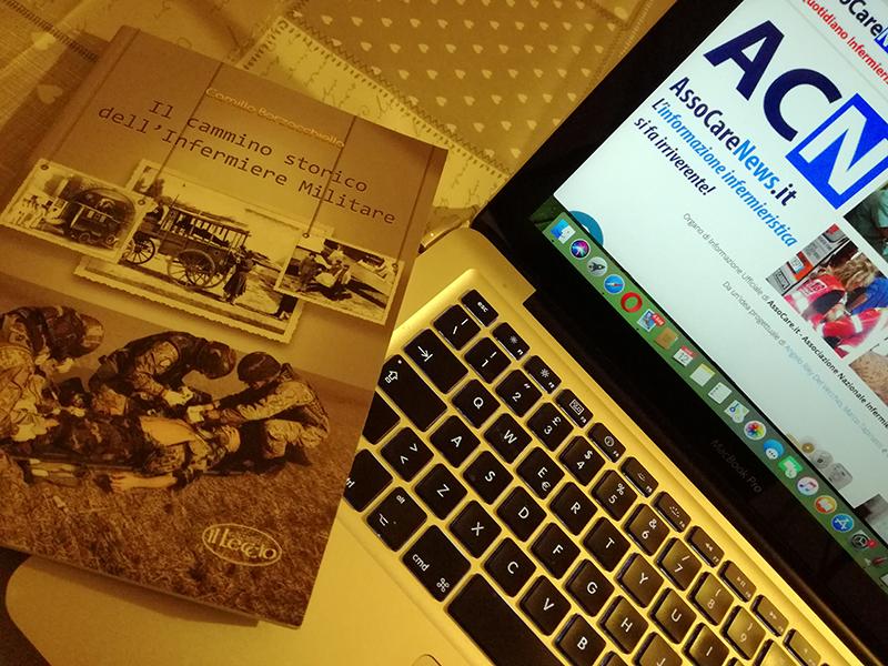 Camino Borzacchiello ci presenta il suo volume sul Cammino Storico dell'Infermiere Militare.