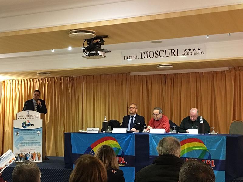 Congresso Uil Fpl Agrigento: riconfermato segretario Fabrizio Danile