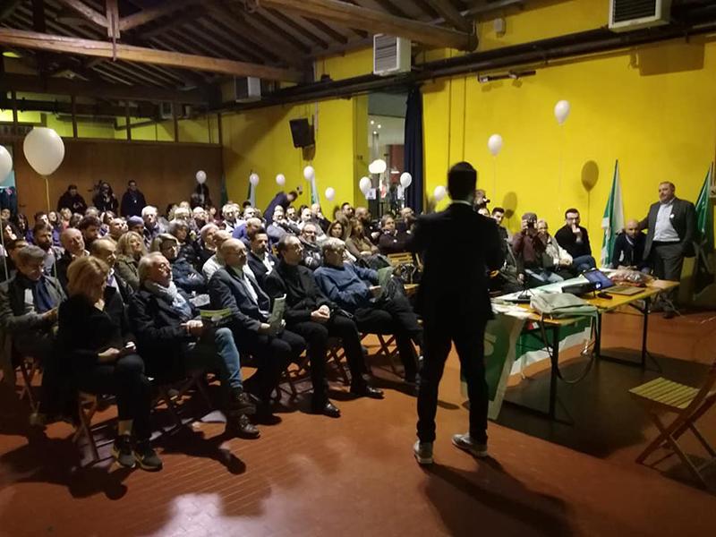 Ecco la manifestazione di presentazione dei candidati RSU della FIALS in Emilia Romagna.