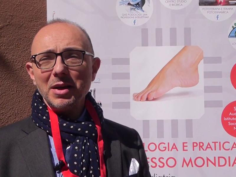 Gaetano di Stasio (Podologo) parla del rapporto con la Professione Infermieristica e annuncia il congresso internazionale di Podologia.