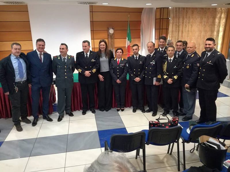 Infermieri Militari e di Polizia a Roma con la presidente FNOPI Barbara Mangiacavalli. L'ultimo a destra è Carbonaro.