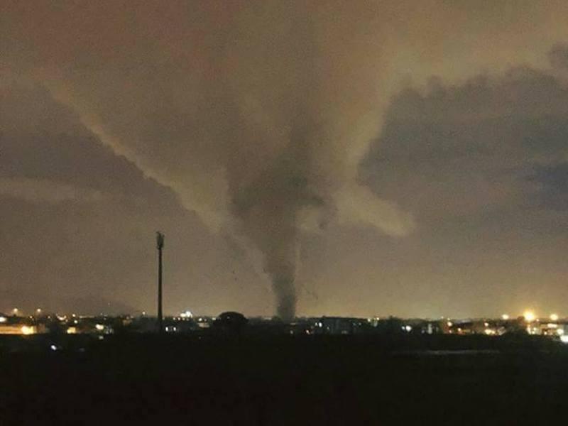 Le immagini del Tornado di Caserta sono spaventose e illustrano il pericolo che ha rappresentato!