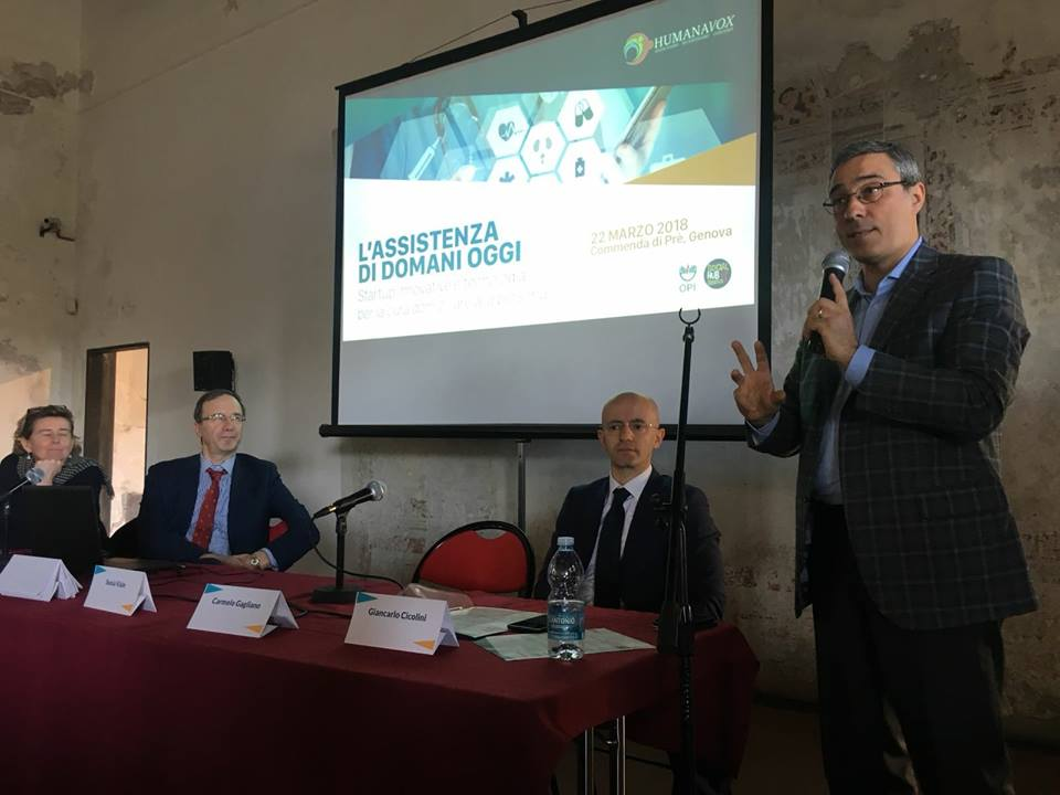 Carmelo Gagliano, presidente degli Infermieri genovesi.