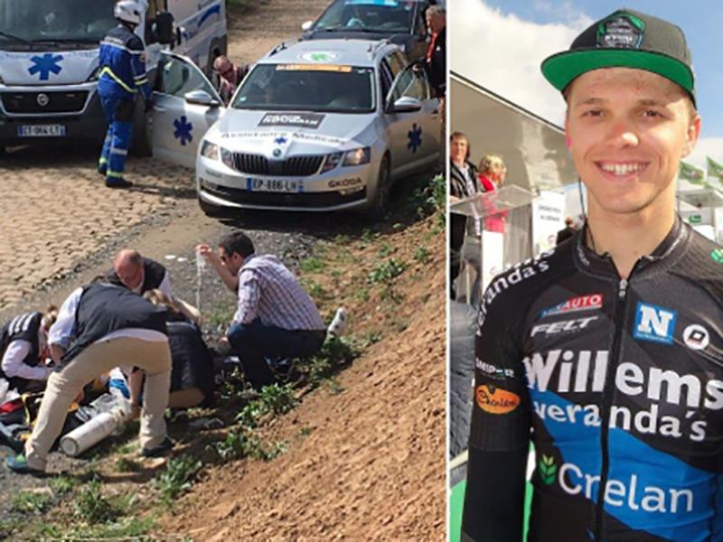 Sindrome di Brugada: ciclista in arresto cardiaco in Francia: 23enne gravisismo!
