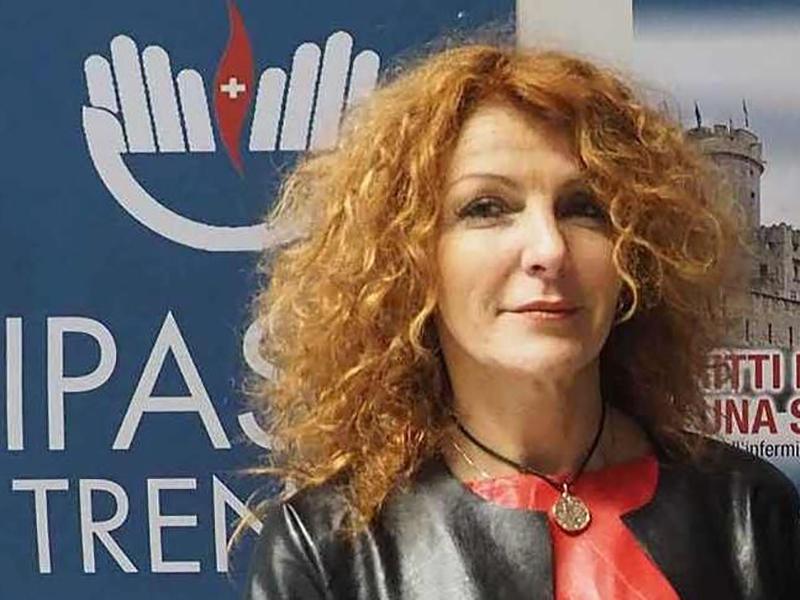 Luisa Zappina, ex-presidente Infermieri Trento, agli arresti domiciliari.