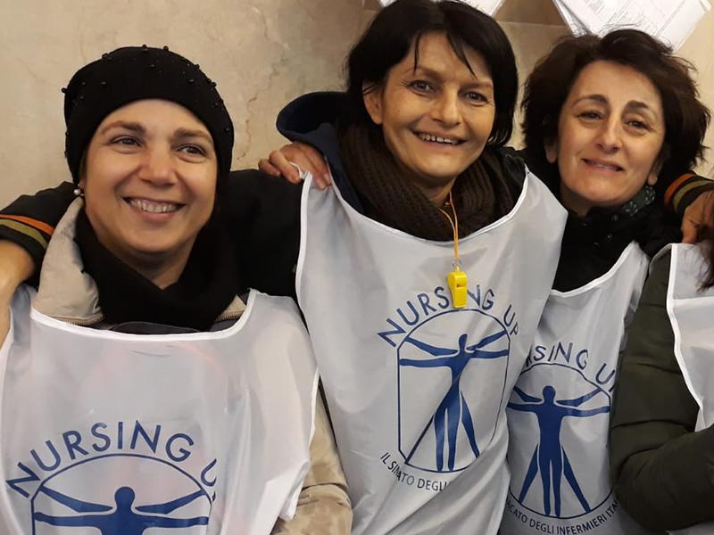 Elezioni Rsu 2018, infermieri Nursing Up: In provincia di Siena un ottimo risultato tutto rosa.