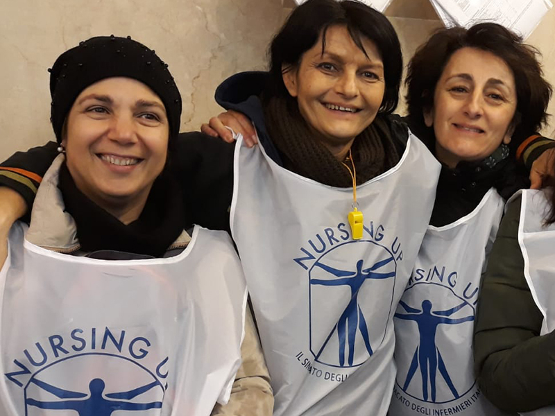 Elezioni RSU 2018: Nursing Up si tinge di rosa a Siena