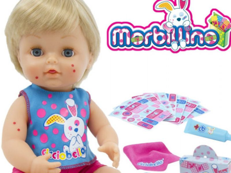Una bambola con il morbillo riapre lo scontro sui vaccini!