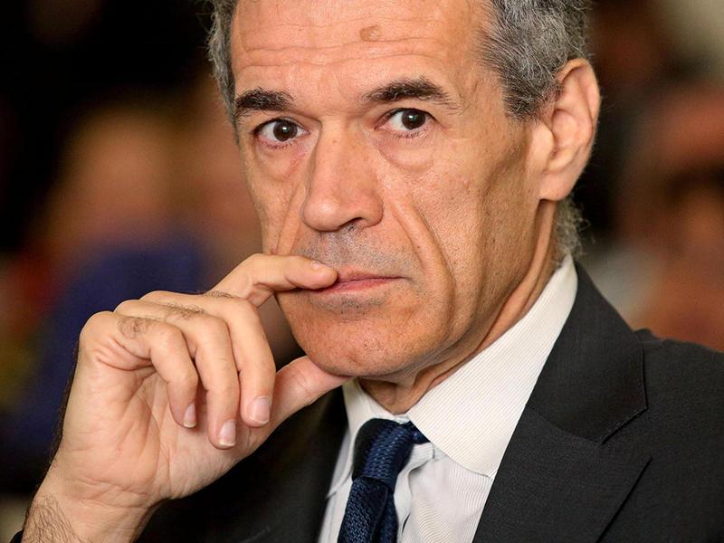 Carlo Cottarelli, neo-primo ministro e rappresentante dei poteri forti europei.