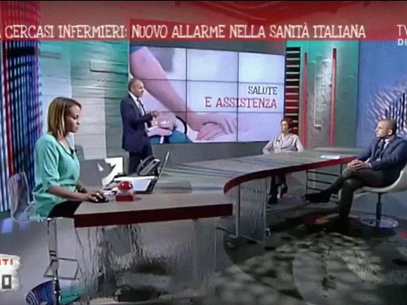 Mancano Infermieri: nuovo allarme in TV, ne servono 50.000.