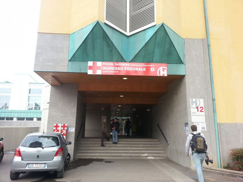 Rivoluzione ospedale: nasce Pronto Soccorso Cadute.