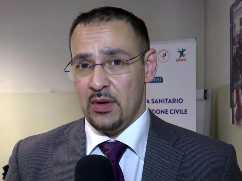Andrea Merlo, vice-presidente Ordine Infermieri Padova.