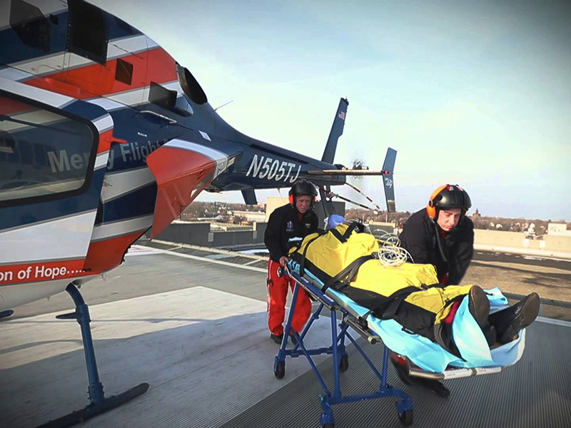 Helicopter Emergency Medical Service: sul Gargano parte Elisoccorso