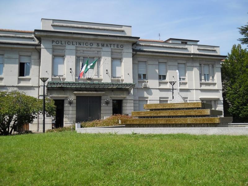 Il policlinico San Matteo di Pavia!