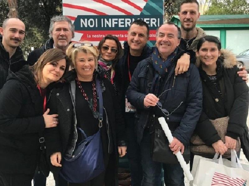 Infermieri di La Spezia nelle commissioni della FNOPI.