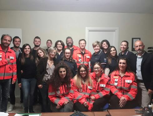 OPI Fermo - Infermieri al servizio delle popolazioni terremotate del Marchigiano.