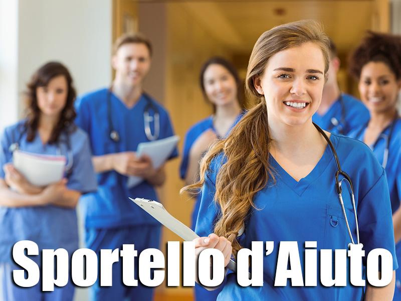 Nasce lo Sportello d'ascolto Infermieri Liberi Professionisti, Professioni Sanitari e Neolaureati.