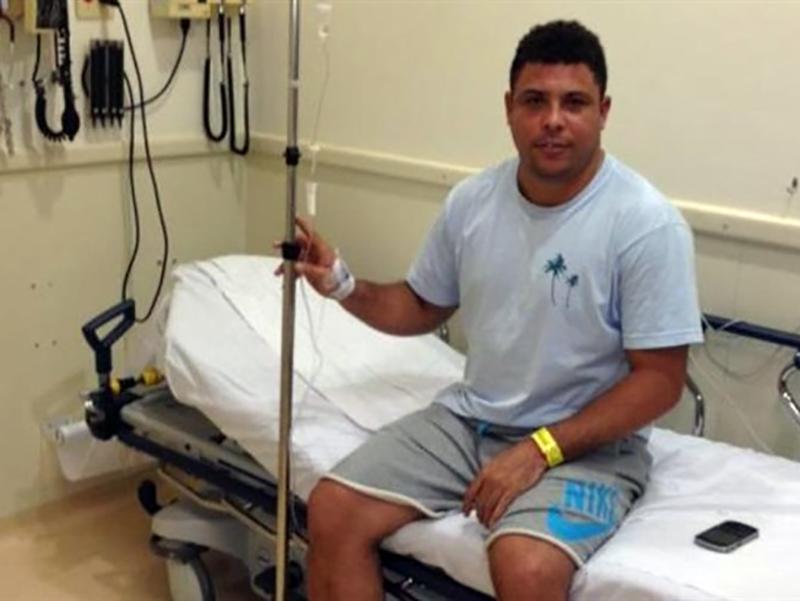 Ronaldo ricoverato d'urgenza in ospedale: polmonite fulminante!