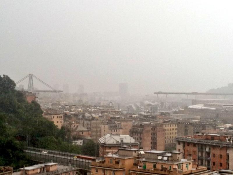 Ponte Morandi Genova, parla infermiere: abitavo accanto al ponte, una disgrazia!