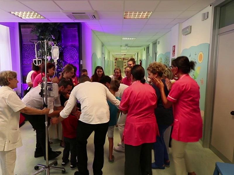Festa della Taranta anche per i piccoli pazienti!