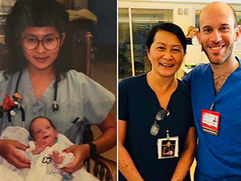 Infermiera salva vita a neonato: si ritrovano per caso dopo 28 anni!