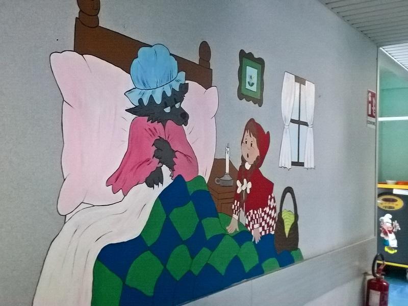 Uno dei meravigliosi dipinti della pediatria!