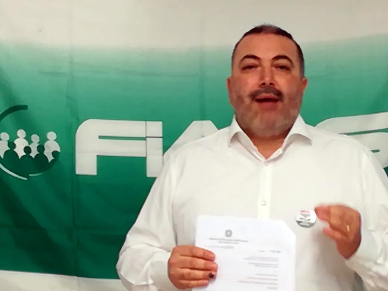 Fials diffida ex-segretario regionale Emilia Romagna.