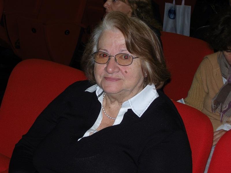 Marisa Cantarelli: teorica italiana!