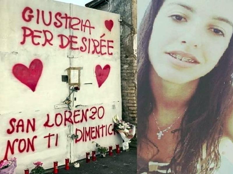 Desirée uccisa a 16 anni dal branco per una dose di eroina