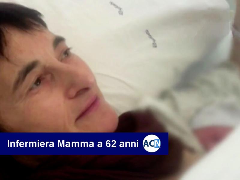 Infermiera mamma a 62 anni con fecondazione assistita eseguita in Albania.