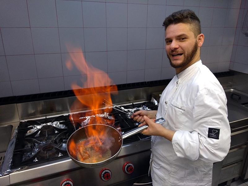 Michele Quitadamo da Monte Sant'Angelo: ha trasformato l'ex-Manicomio di Imola in un ristorante di altissima qualità, dove riesce a mescolare le cucine tipiche del Sud e del Nord d'Italia.