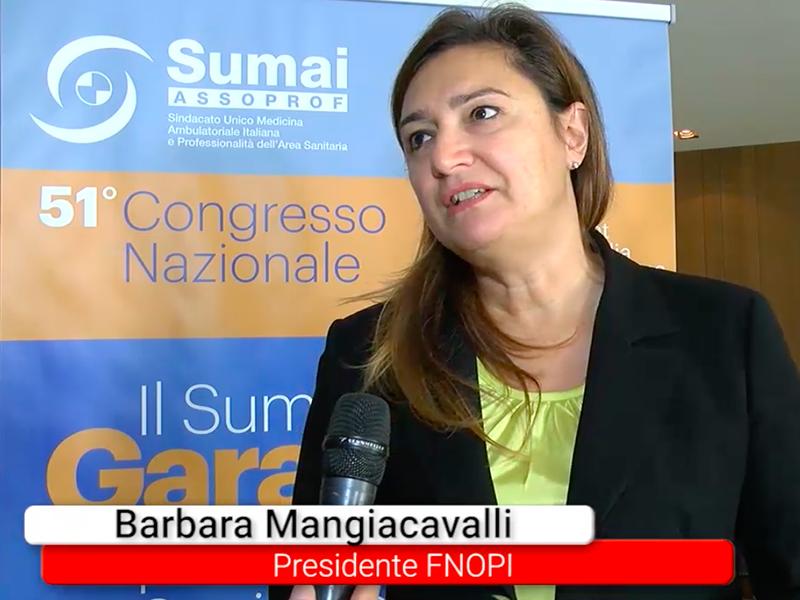 Barbara Mangiacavalli (FNOPI) al Forum Risk Management 2018: gli Infermieri saranno protagonisti del futuro dell'assistenza sanitaria in Italia.