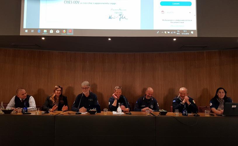 Uno dei momenti fondamentali dell'evento, con la presenza della Presidente Fnopi, Barbara Mangiacavalli.