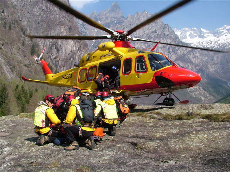 Elisoccorso: sempre più hitech velivoli e attrezzature dell'emergenza.