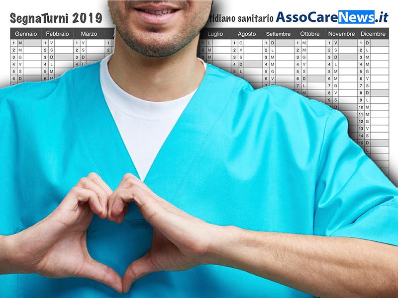 Infermieri, Medici, Oss, Professionisti Sanitari: ecco il SegnaTurni 2019!