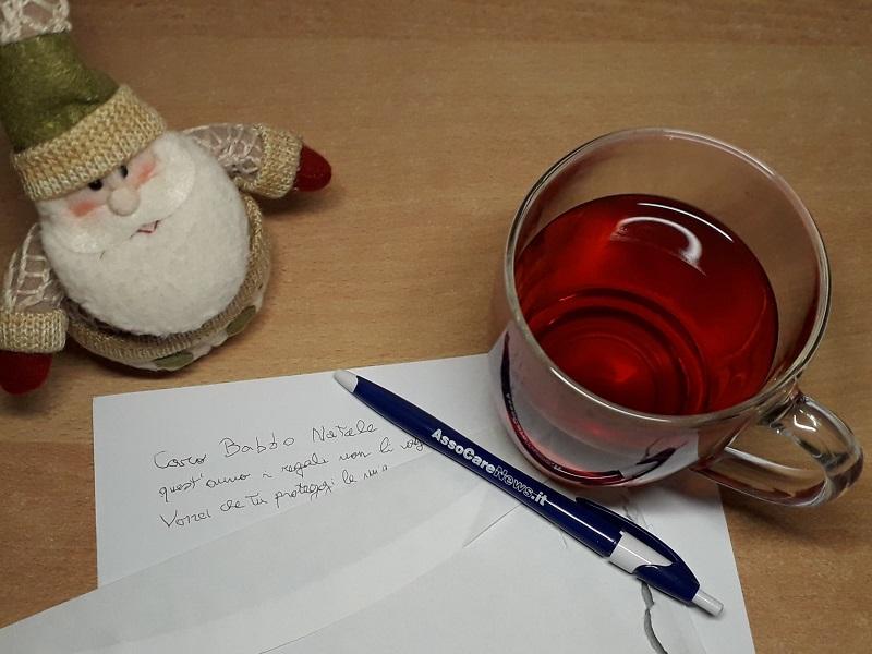 Figlia di un'infermiera aggredita scrive a Babbo Natale