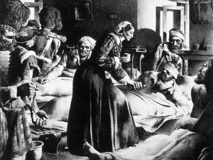 Florence Nightingale, madre dell'Infermieristica.