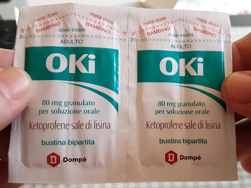 OKI, ketoprofene: indicazioni, uso in gravidanza ed effetti collaterali.